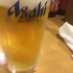 居酒屋 えいと - 生ビールはアサヒ