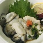 創作居酒屋 もり蔵 - 料理写真:サロマ産かきぽん酢