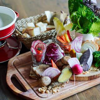 【こだわり】全国各地のオーガニック野菜を活かしたお料理!