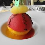 エリゼ光 - 2種の西瓜のデザート