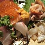 貝と魚と炉ばたのバンビ -