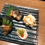 Hanakokitahorie - 4種盛り