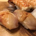 魚がし寿司 - 「赤貝」200円×2