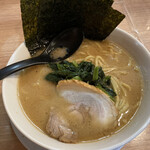 えび豚骨ラーメン 真面目 - 豚骨ラーメン醤油 ¥730税込