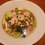 鼎泰豐 - 4種のキノコのタンメン