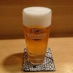 ryouriyatoki - 生ビール