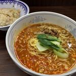 万里 - 坦々麺セット