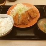 かつや 名古屋丸の内店 - ヒレカツ定食