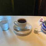 喫茶 穂高 - ホットコーヒー