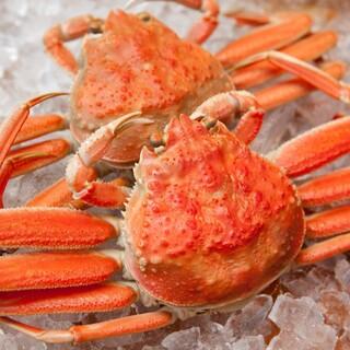 津居山蟹の季節です