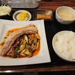 Hanaya - 本場四川回鍋肉セット