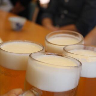 生ビール390円・ハイボール290円と飲み会にも使えます!