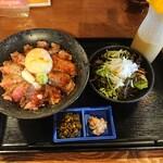 140212129 - 熊本和牛【安蘇王】あか牛ステーキ丼1,800円(税込) 202011