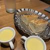 クレメンティア - 料理写真:とうもろこしのスープと自家製パン