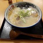 麺や 雅 - コク塩白湯。