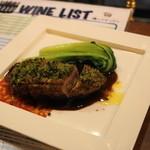 俺のイタリアン marche - 2012.7 フォアグラを詰めた鴨ムネ肉のロースト(1,029円)