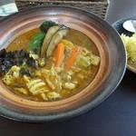 14022798 - 動産野菜スープカレー。じゃがいもの美味さで違いを感じる。