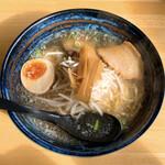 山海居 - 料理写真:塩ラーメン