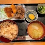 ゆたか - 料理写真:ゆたか@野田市 日替わり定食(500円)