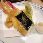 うなぎ和食 しら河 - 天ぷら