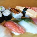 ごんた寿し - 上天ぷら定食