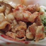 蒙古タンメン中本 - 限定:ハマそばにのっている肉が旨い(*^^)v