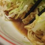 蒙古タンメン中本 - 限定:ハマそば(油そば)のタレ