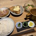 TSUKUMO食堂 - 選べる定食1300円