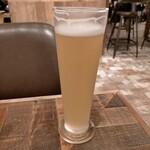 egg baby cafe - ハンドメイドビール550円
