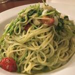 Estate - バジルソースのスパゲッティ