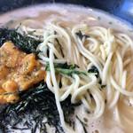 九十九里 麺ドラゴン - 細麺です。