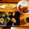 グランド クラブ ラウンジ - 料理写真:クラブラウンジの 夕食 カクテルタイムの おつまみかなあ?  一品ずつ  それぞれが 美味しい きちんと 丁寧に 作ってくれてます