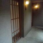 14024553 - はなれの個室の入り口