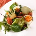 フレンチレストラン リーボン - サラダ
