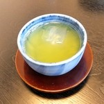 うなぎ 善 - 冷たいお茶