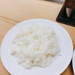 洋食 キラク - ライスは妙に大盛り