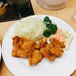 洋食 キラク - 特売メニューの豚フライライス/サービスカツライス 1000円