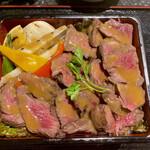 ragujuari-sutandomirasuba-andokafe - 牛ハラミステーキ重!