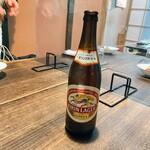 谷中の雀 - 瓶ビール①
