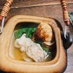 谷中の雀 - 松茸土瓶蒸し
