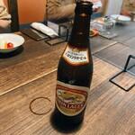 谷中の雀 - 瓶ビール②