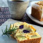 カフェ 美音 - 軽食にオススメのサクレは季節の野菜がたっぷり!