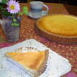カフェ 美音 - 豆乳チーズケーキ