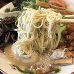 福ヤ - 麺