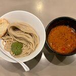 tsukemengonokamiseisakujo - 海老トマトつけ麺 ¥950