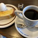 星乃珈琲店 - 星のやブレンドコーヒー ¥420- モーニングセット