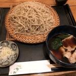 140278407 - じゅ泉 「肉汁せいろ」1100円(税込)+「大盛り」200円(税込)