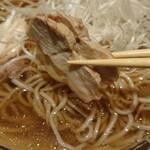 Enzou - 冷たい肉そば ¥750