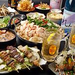 博多ガラクタ屋台 - 2.5H飲み放題付3,500円~手作りの九州料理や和牛もつ鍋など