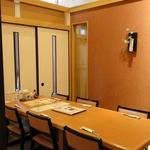 14028760 - 個室の低いテーブル席